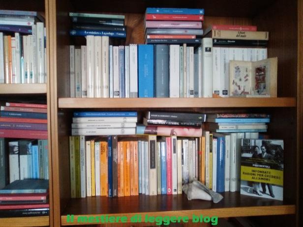 la mia libreria con nome blog