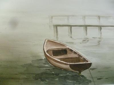 Nebbia sul lago