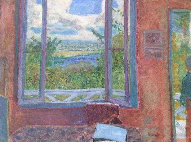 Bonnard finestra aperta sulla senna