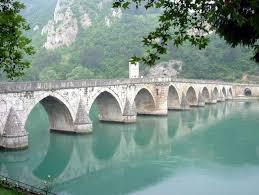 Visegrad ponte sulla Drina