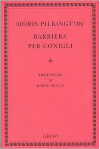 Barriera per conigli
