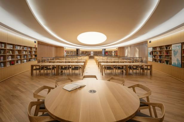 Calgary new central reading room