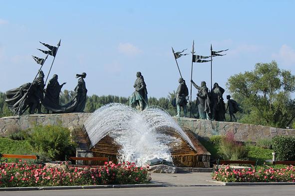 Fontana lNibelungenbrunnen_Tulln@Dguendel