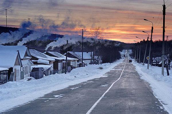 Siberia strada