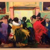 Renato Natali, artista livornese, pittura post-macchiaioli
