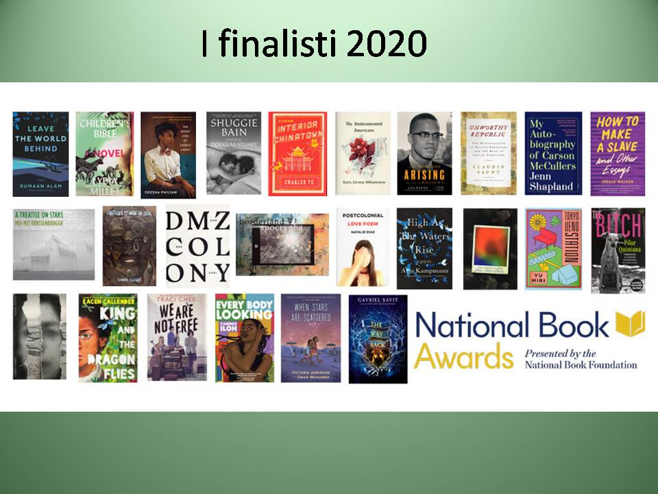 National Book awd 2020 finalisti
