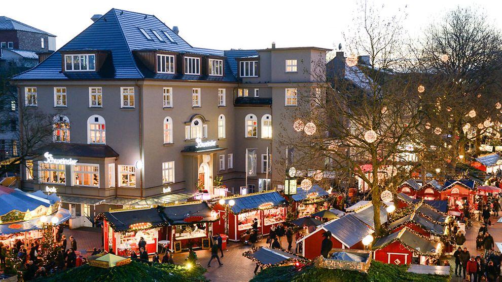 Amburgo christmas-market-ottensen
