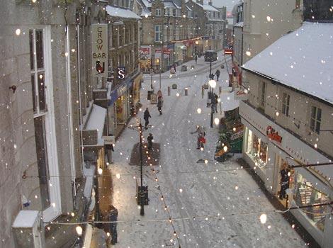 Cornwall winter