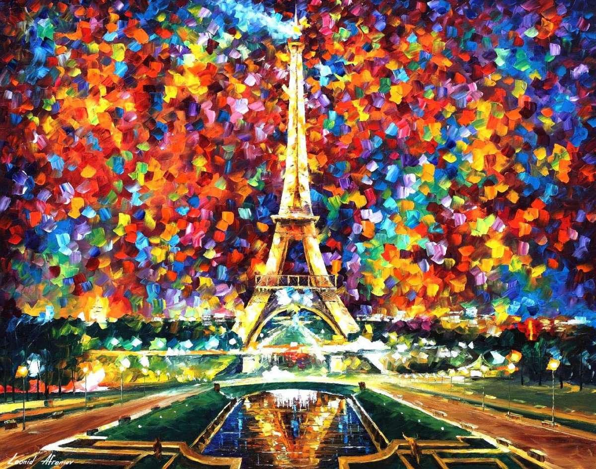 Afremov PARIS-OF-MY-DREAMS