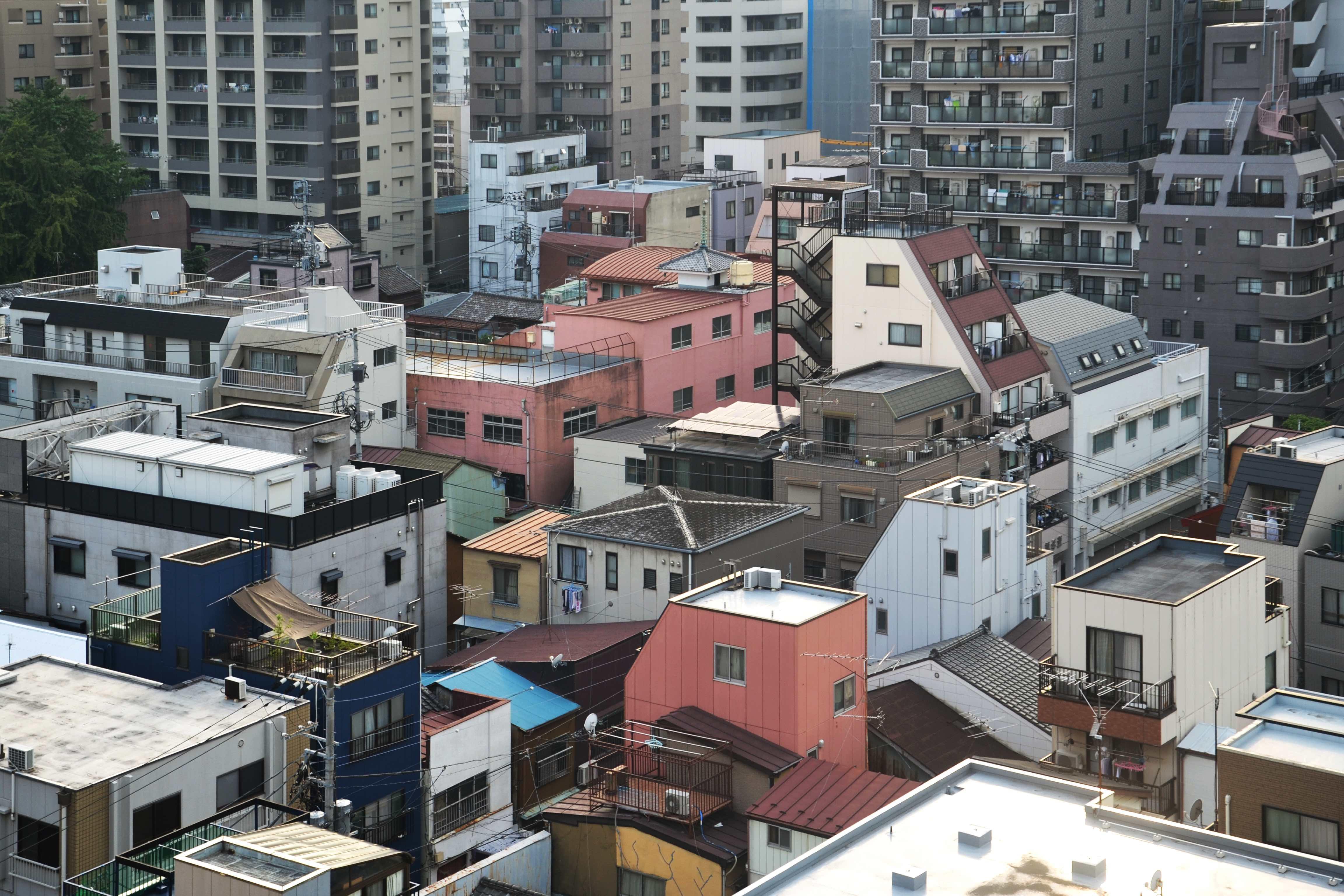 Tokyo città sovraffollata