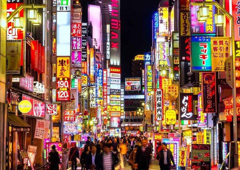 Tokyo insegne