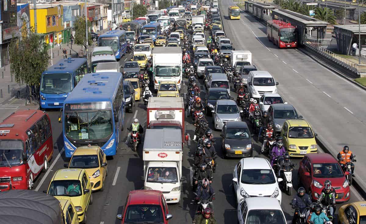 Bogotà traffico