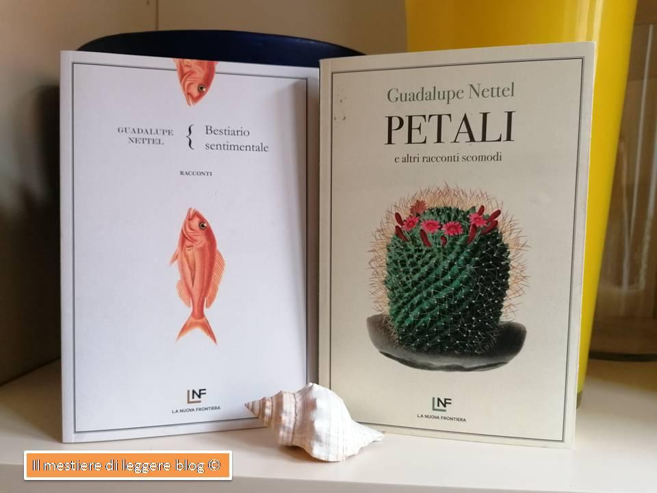 Nettel due libri racconti con logo