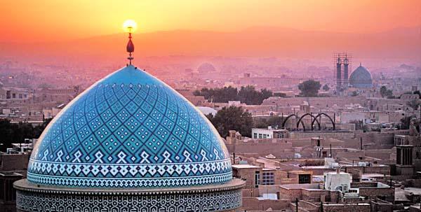 Teheran tramonto